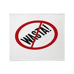 No Wasta Throw Blanket