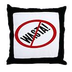 No Wasta Throw Pillow
