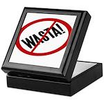No Wasta Keepsake Box
