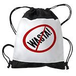 No Wasta Drawstring Bag