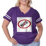 No Wasta Women's Plus Size Football T-Shirt