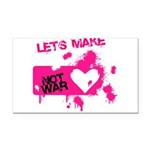 LoveWarB Rectangle Car Magnet