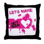 LoveWarB Throw Pillow