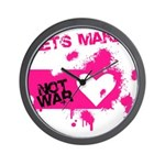 LoveWarB Wall Clock