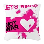 LoveWarB Woven Throw Pillow