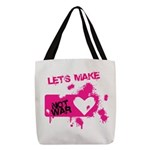 LoveWarB Polyester Tote Bag
