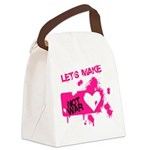 LoveWarB Canvas Lunch Bag
