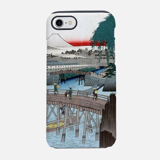 Utagawa Hiroshige Ichikobu Bri iPhone 7 Tough Case