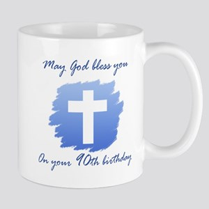 Christian 90th Birthday Mug
