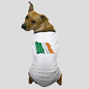 Irish Flag / Ireland Flag Dog T-Shirt