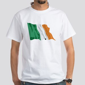 Irish Flag / Ireland Flag White T-Shirt