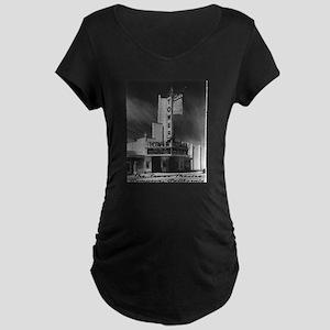 Tower Theatre Maternity Dark T-Shirt