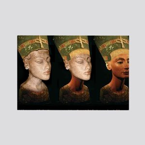 Hitler's Nefertiti Rectangle Magnet (10 pack)
