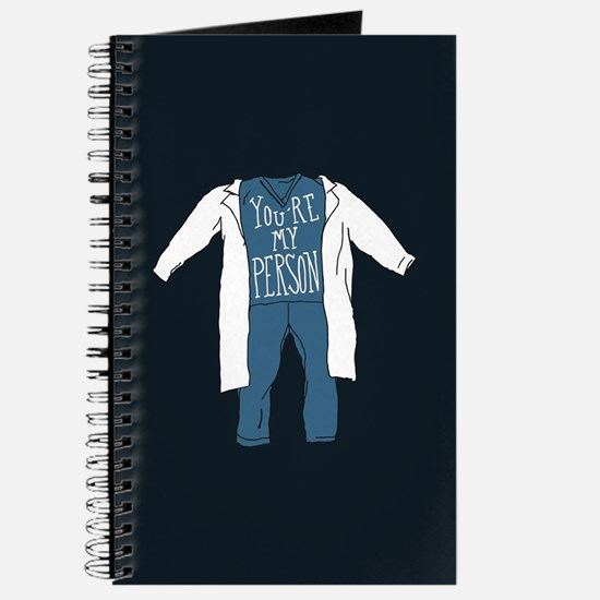 You're My Person Scrubs Journal