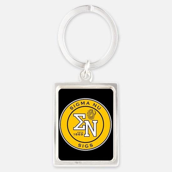 Sigma Nu Badge Keychains