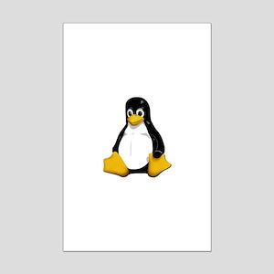Tux Mini Poster Print