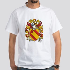 Tracy Coat of Arms White T-Shirt