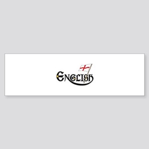 English Gents Sticker (Bumper)