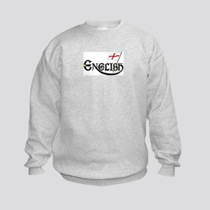 English Child Kids Sweatshirt