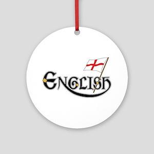 English Accessories Ornament (Round)