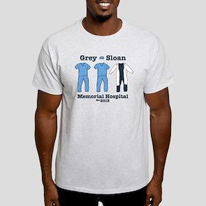 Grey Sloan Hospital Est.2013 Light T-Shirt