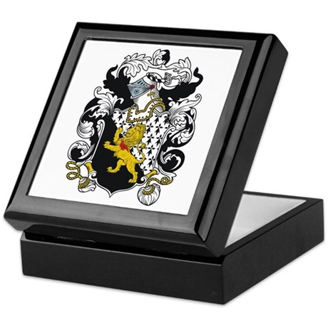 Trevor Coat of Arms Keepsake Box
