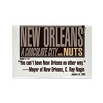 NOLA: A Chocolate City Rectangle Magnet (10 pack)