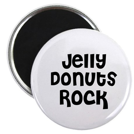 Jelly Donuts Rock Magnet