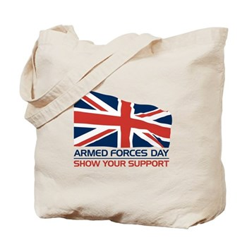 Armed Forces Day Tote Bag