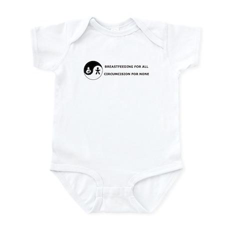 Lactivist/Intactivist Infant Bodysuit