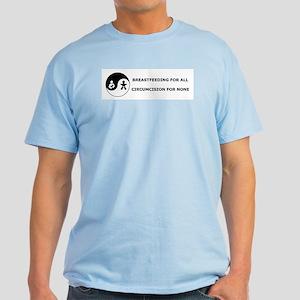 Lactivist/Intactivist Light T-Shirt