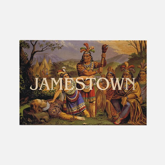 ABH Jamestown Rectangle Magnet
