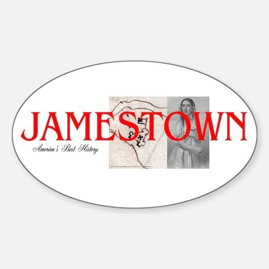 ABH Jamestown Sticker (Oval)