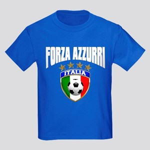 Forza Azzurri 2012 Kids Dark T-Shirt