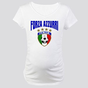 Forza Azzurri 2012 Maternity T-Shirt