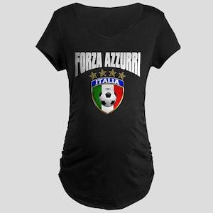 Forza Azzurri 2012 Maternity Dark T-Shirt