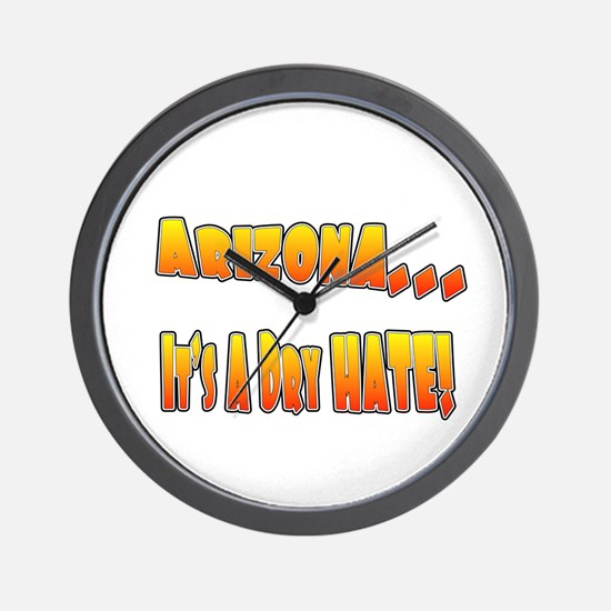 Funny Anti mexicans Wall Clock