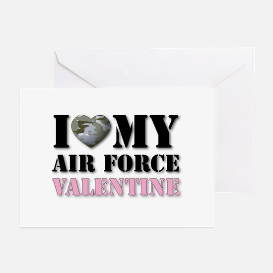 Air Force Valentine Greeting Cards (Pk of 10)