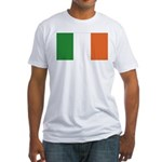 Irish Flag / Ireland Flag Fitted T-Shirt