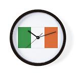 Irish Flag / Ireland Flag Wall Clock