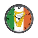 Irish Flag / Ireland Flag Wall Clock