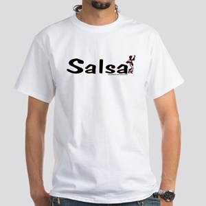 """Salsa"" with dancer White T-Shirt"