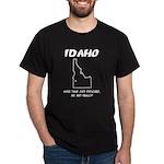 Funny Idaho Motto Black T-Shirt