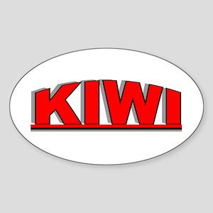 """""""Kiwi"""" Oval Sticker"""