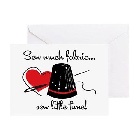 Sew Much Fabric Greeting Cards (Pk of 10)