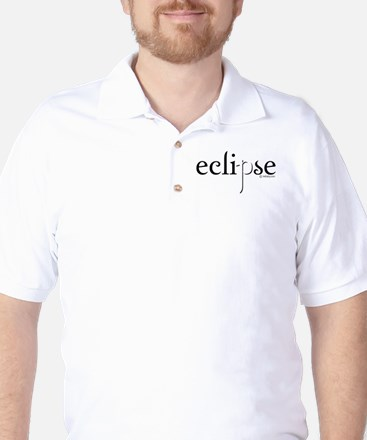 Eclipse Black and White by Twibaby Golf Shirt