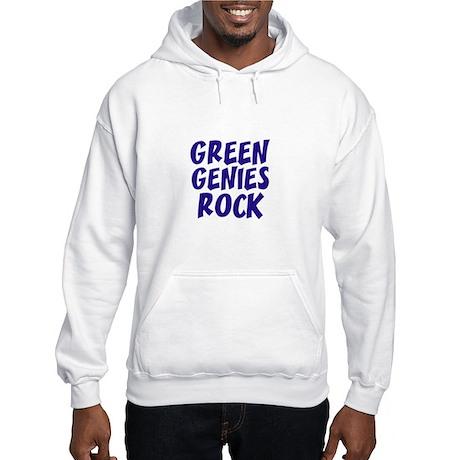 Green Genies Rock Hooded Sweatshirt