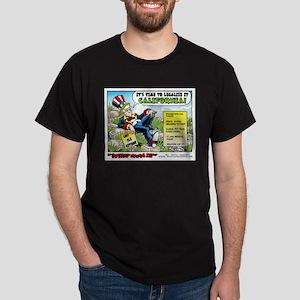 Legalize it California Dark T-Shirt