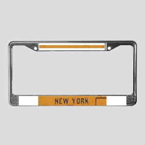 New York License Plate Frame