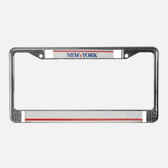 Liberty State License Plate Frame